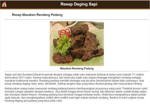 Resep Daging Sapi screenshot 2