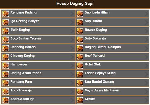 Resep Daging Sapi screenshot 6