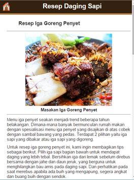 Resep Daging Sapi screenshot 9