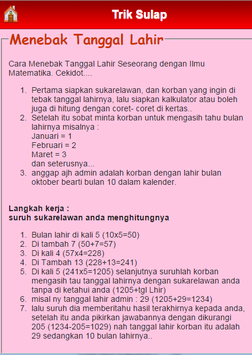 Trik Sulap screenshot 11