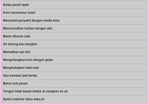 Trik Sulap screenshot 2