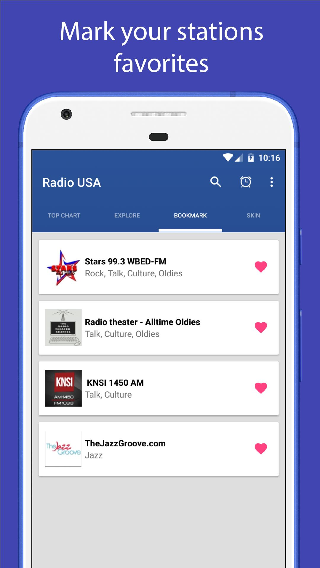 Radio USA - Free online radio stations FM AM for Android - APK Download