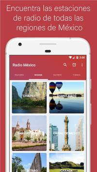 Radio Mexico - Live stations for free screenshot 1