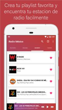 Radio Mexico - Live stations for free screenshot 2