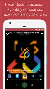 Radio Mexico - Live stations for free screenshot 4