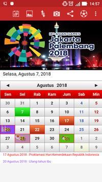 Kalender Indonesia poster