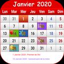 Français Calendrier 2020 APK Android