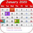 South African Calendar 2020 APK Android