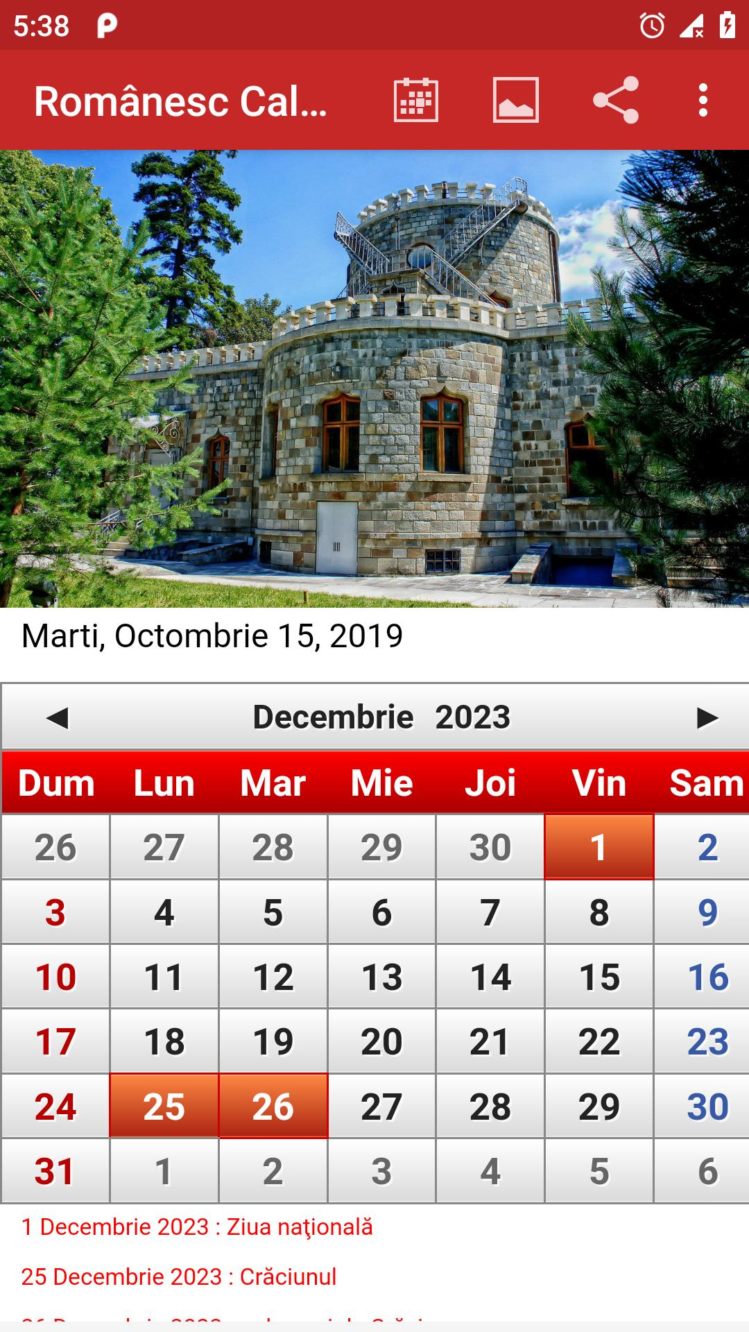 Romania Calendar 2020 For Android Apk Download