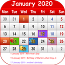 US Calendar 2020 APK Android