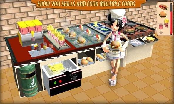 Virtual Chef Cooking Simulation poster