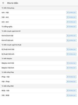 Aha Dictionary - Từ điển screenshot 6