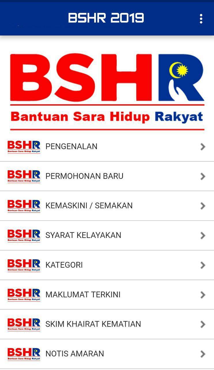 Bshr 2019 Bantuan Sara Hidup Rakyat For Android Apk Download