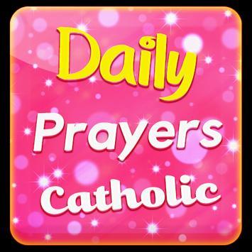 Daily Prayers Catholic poster