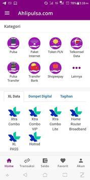 AhliPulsa.com screenshot 1