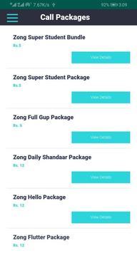 Zong Packages screenshot 1
