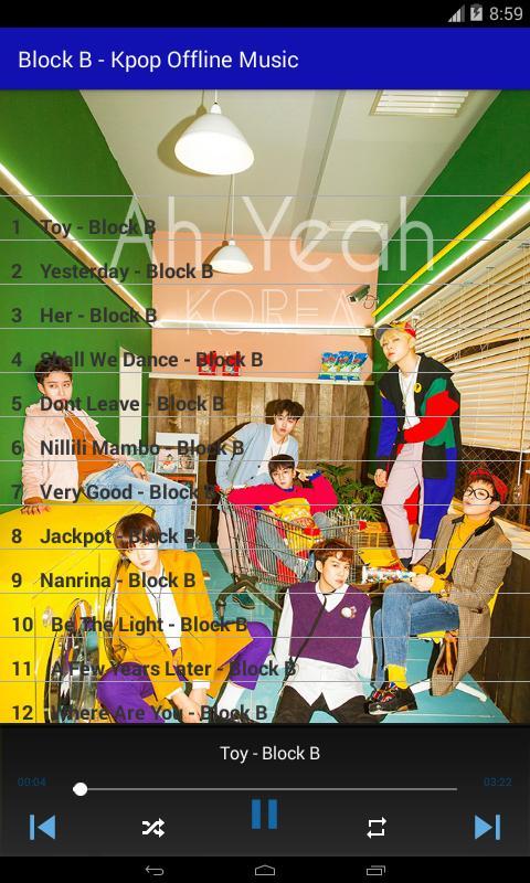Block B - Kpop Offline Music for Android - APK Download