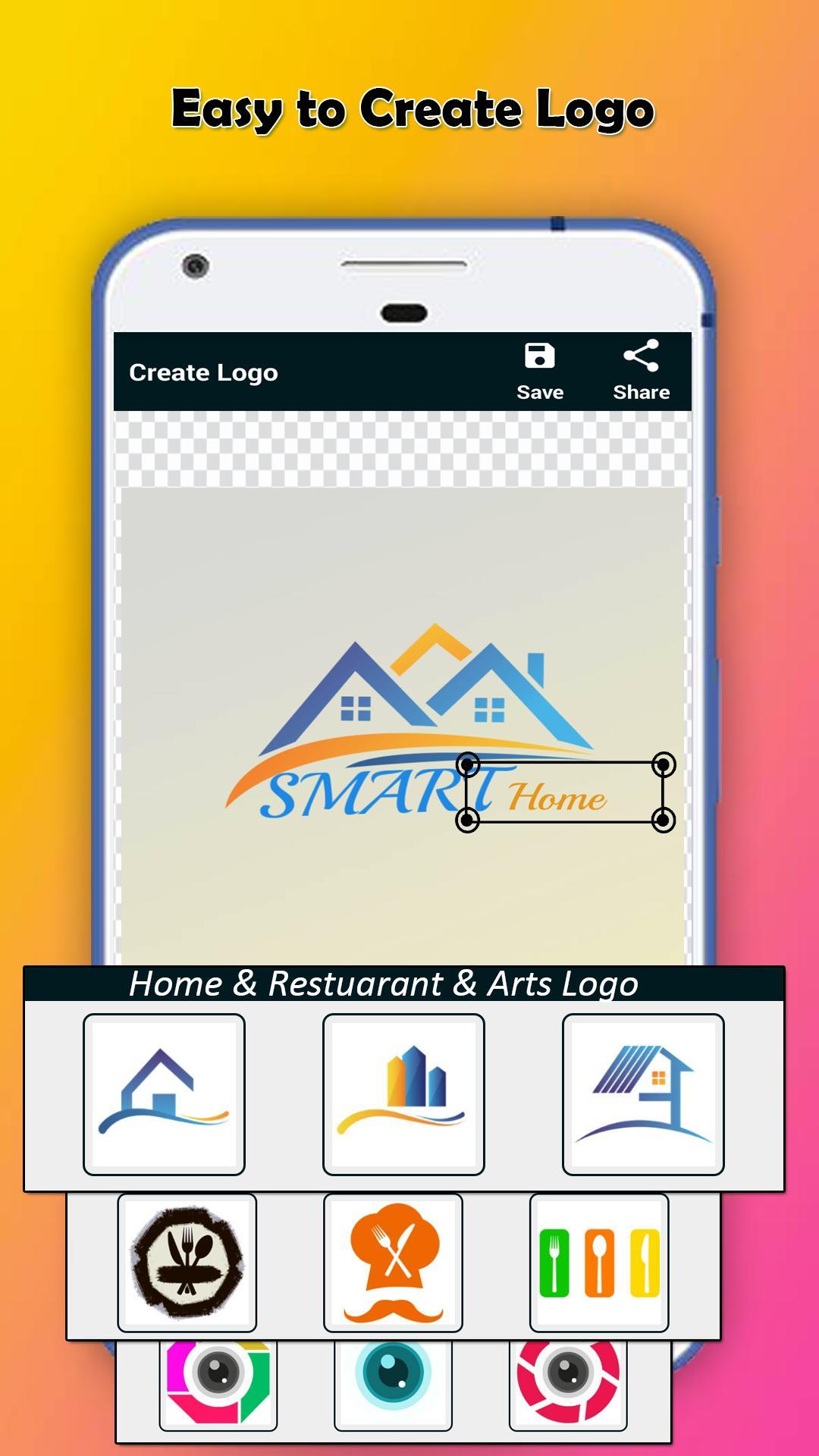 Nama aplikasi android Logo Maker