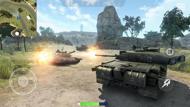 Tanks of War Ekran Görüntüsü 17
