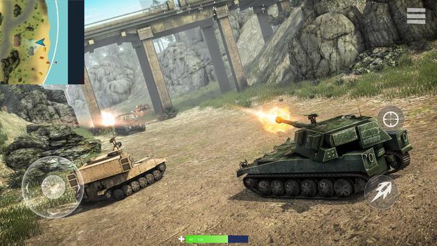 Tanks of War Ekran Görüntüsü 2