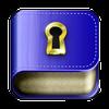 Diário privado com senha ícone