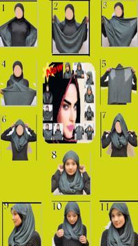 Hijab Styles Step By Step _ لفات حجاب بالخطوات poster