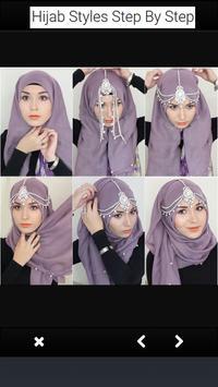 Hijab Styles Step By Step _ لفات حجاب بالخطوات screenshot 3