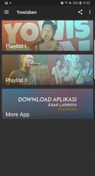 Yowisben song OFFLINE screenshot 1