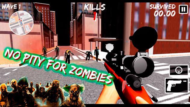 Juego de francotirador zombies captura de pantalla 7