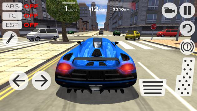 Extreme Car Driving Simulator screenshot 16
