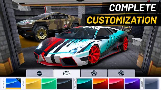 Extreme Car Driving Simulator captura de pantalla 4