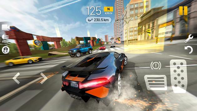 Extreme Car Driving Simulator captura de pantalla 6