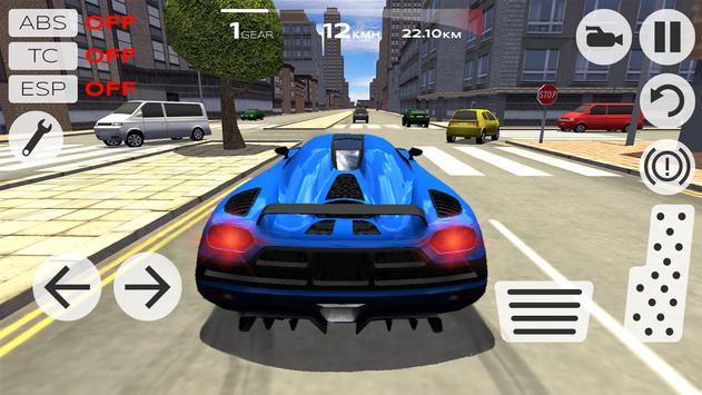 Extreme Car Driving Simulator स्क्रीनशॉट 9