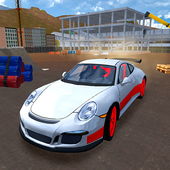 Racing Car Driving Simulator أيقونة