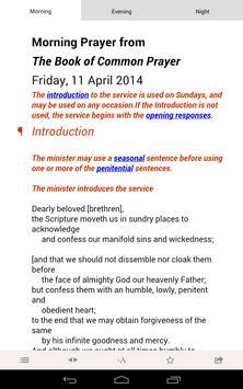 Daily Prayer: from the CofE captura de pantalla 1