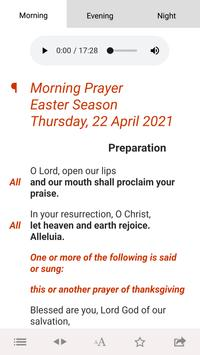 Daily Prayer: from the CofE Poster