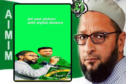 AIMIM Party DP Maker poster