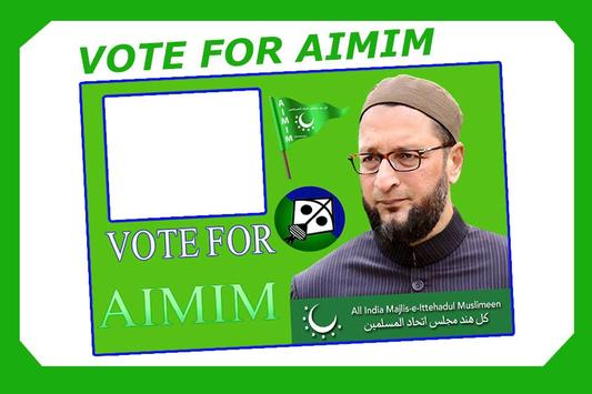 AIMIM Party Photo Frames screenshot 2