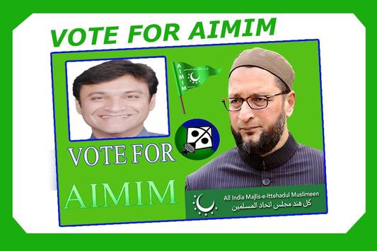 AIMIM Party Photo Frames screenshot 3