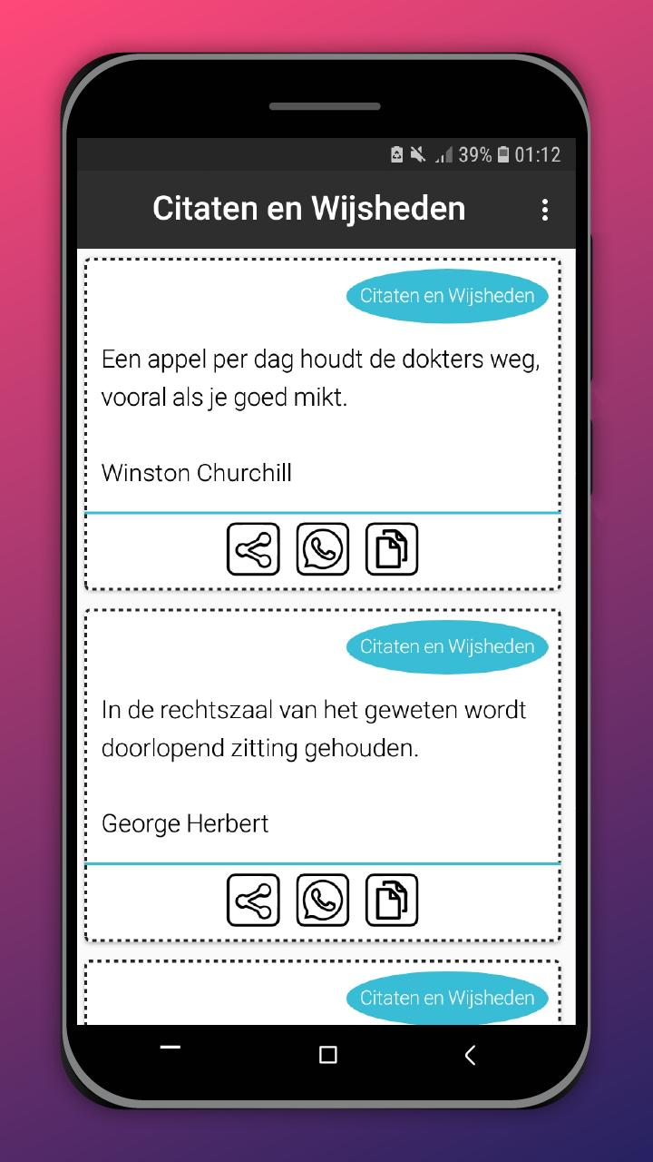 Citaten En Wijsheden For Android Apk Download