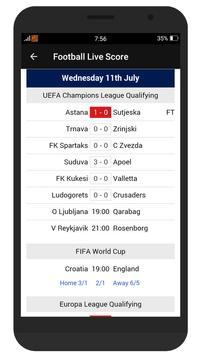 All Football Live - Fixtures, Live Score & More screenshot 6