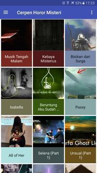 Cerpen Horor dan Misteri Offline poster