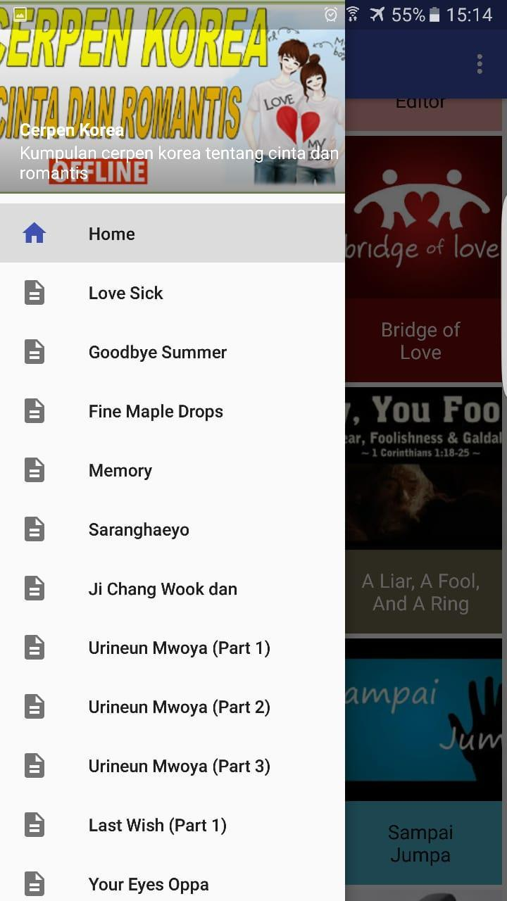 Cerpen Korea For Android APK Download