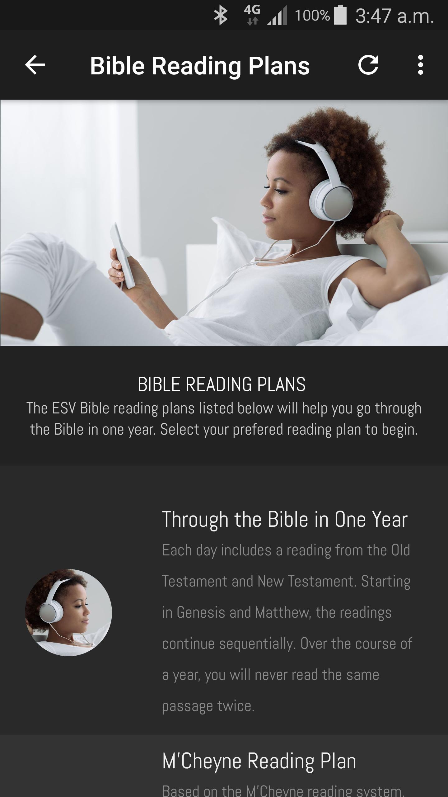 Audio Bible Reading
