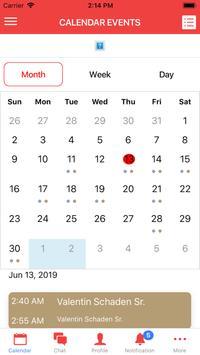 AIRA IR Calendar Mobile poster