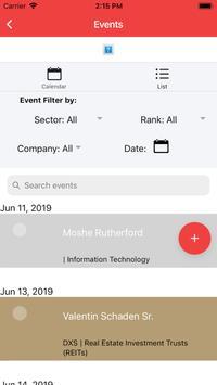 AIRA IR Calendar Mobile screenshot 1