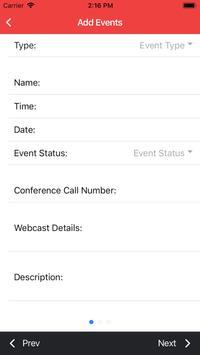 AIRA IR Calendar Mobile screenshot 2