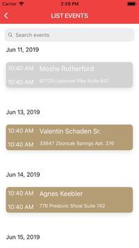 AIRA IR Calendar Mobile screenshot 7
