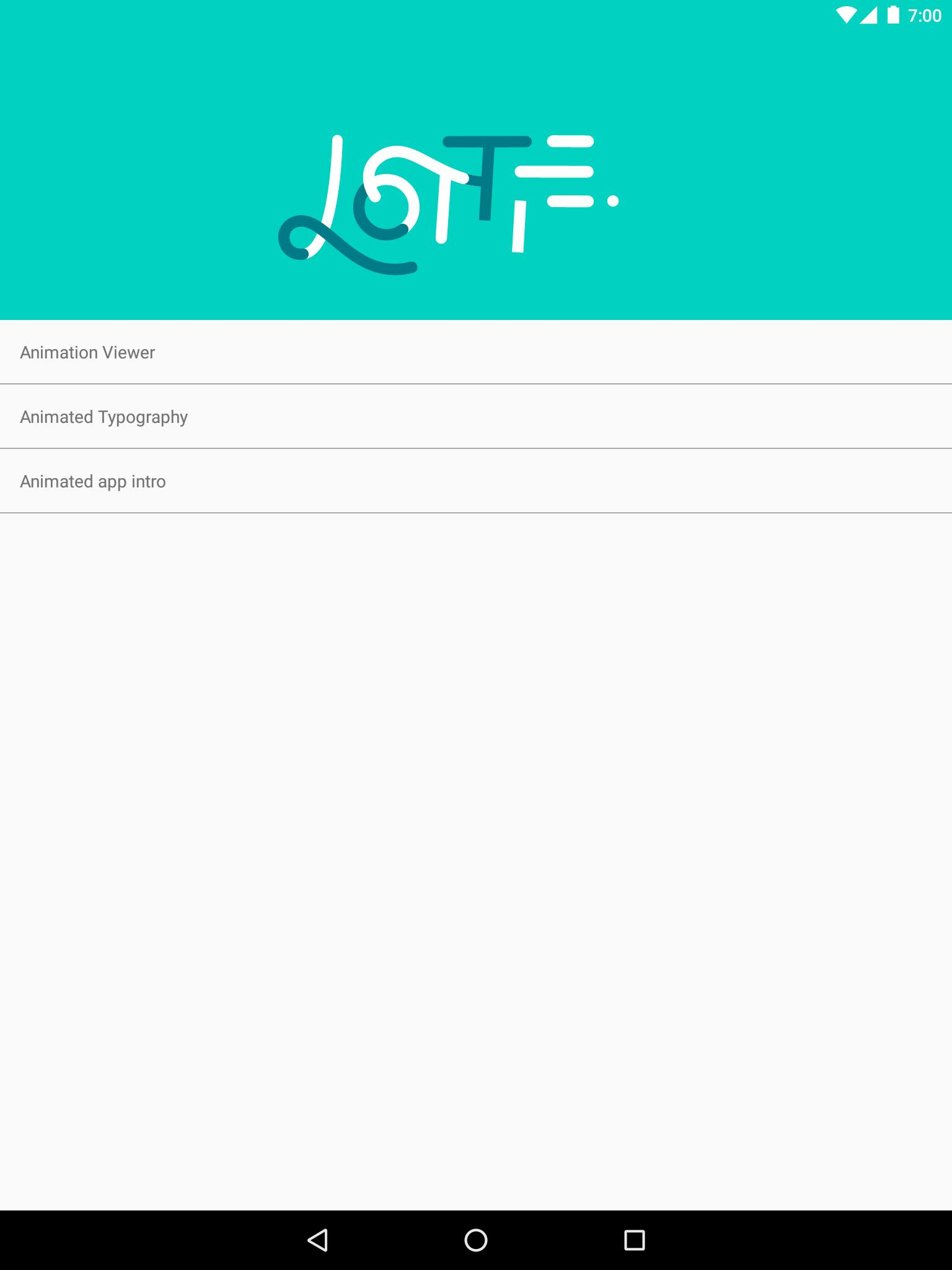 Lottie for Android - APK Download