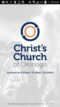 Christ's Church of Oronogo poster